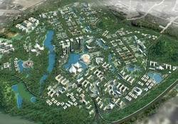 Phối cảnh quy hoạch chung dự án ĐHQG Hà Nội tại Hòa Lạc