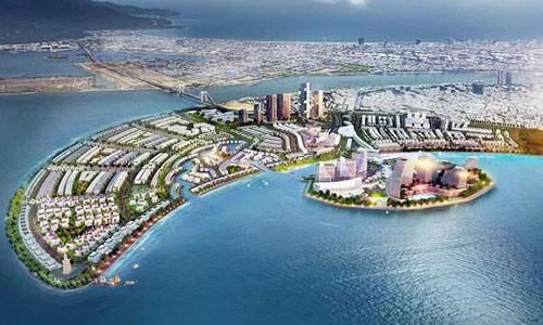 Dự án khu đô thị lấn biển Vầng trăng khuyết.