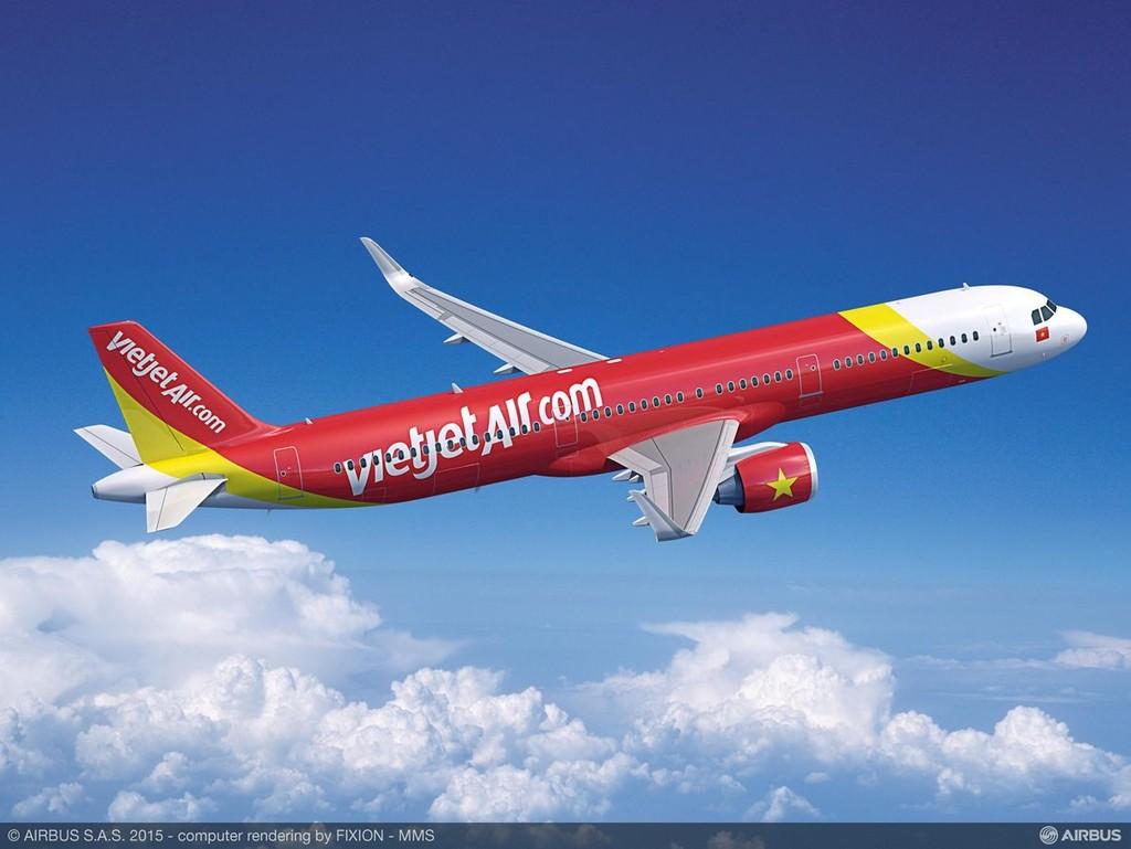 Vietjet ngừng khai thác 10 chuyến bay do ảnh hưởng bão Tembin