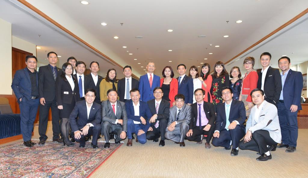 Đại sứ Việt Nam tại Kuwait - ông Trịnh Minh Mạnh và các Doanh nghiệp Việt Nam