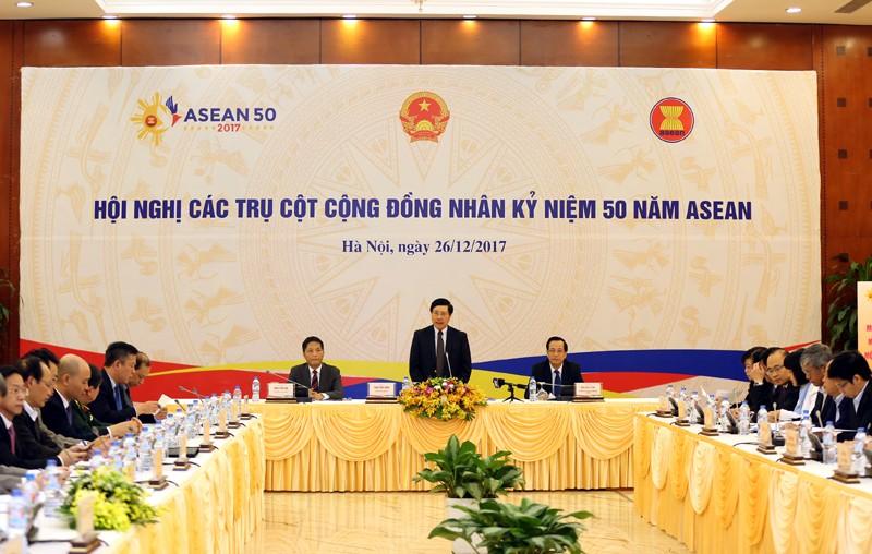 Kiểm điểm, đề xuất biện pháp tăng cường hợp tác ASEAN - ảnh 1