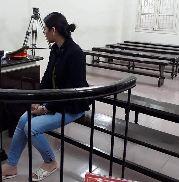 Bị cáo Mai tại phiên xử.