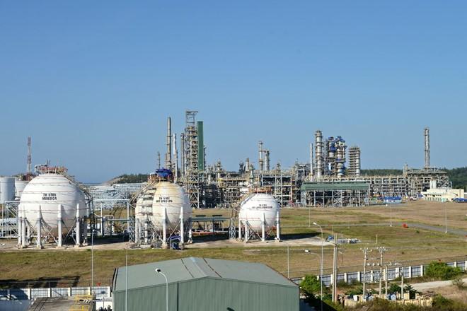 Nhà máy lọc hóa dầu Bình Sơn. Ảnh: PVN.