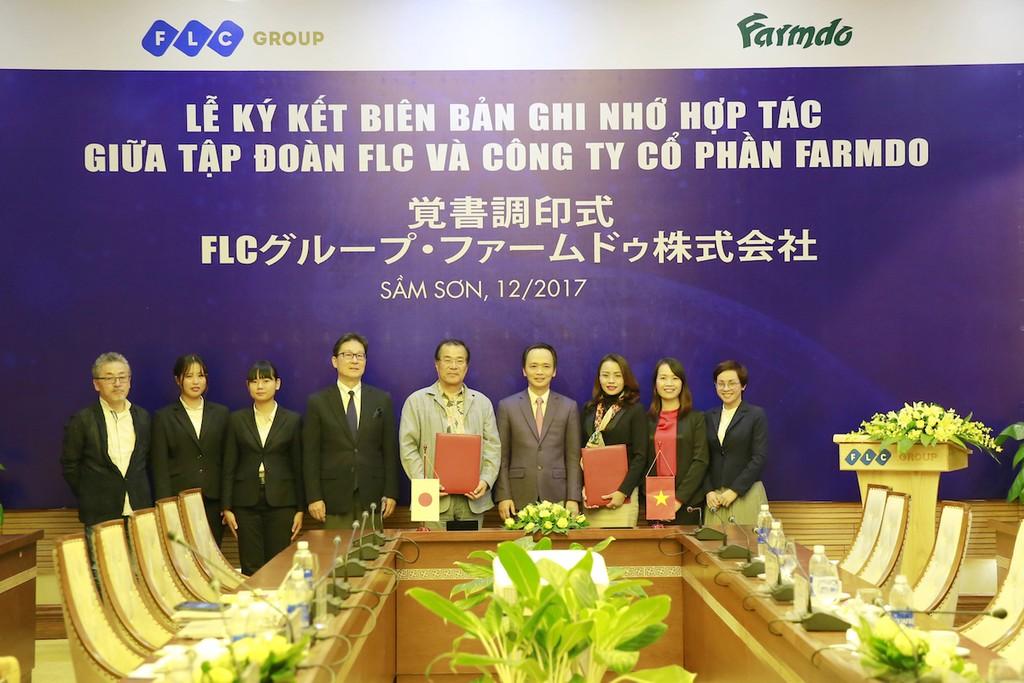 FLC - Farmdo bắt tay làm nông nghiệp và duyên cầu nối từ vị Đại sứ - ảnh 3
