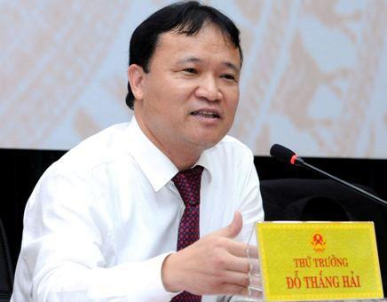 Thứ trưởng Bộ Công Thương Đỗ Thắng Hải.
