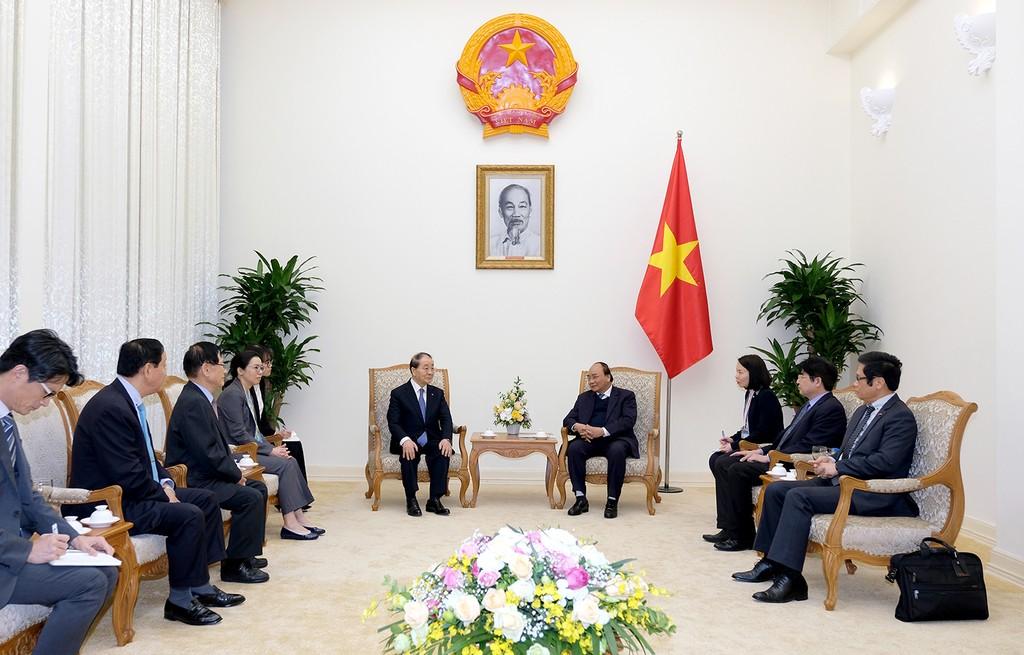 Thủ tướng tiếp lãnh đạo tập đoàn dệt may Hàn Quốc - ảnh 1