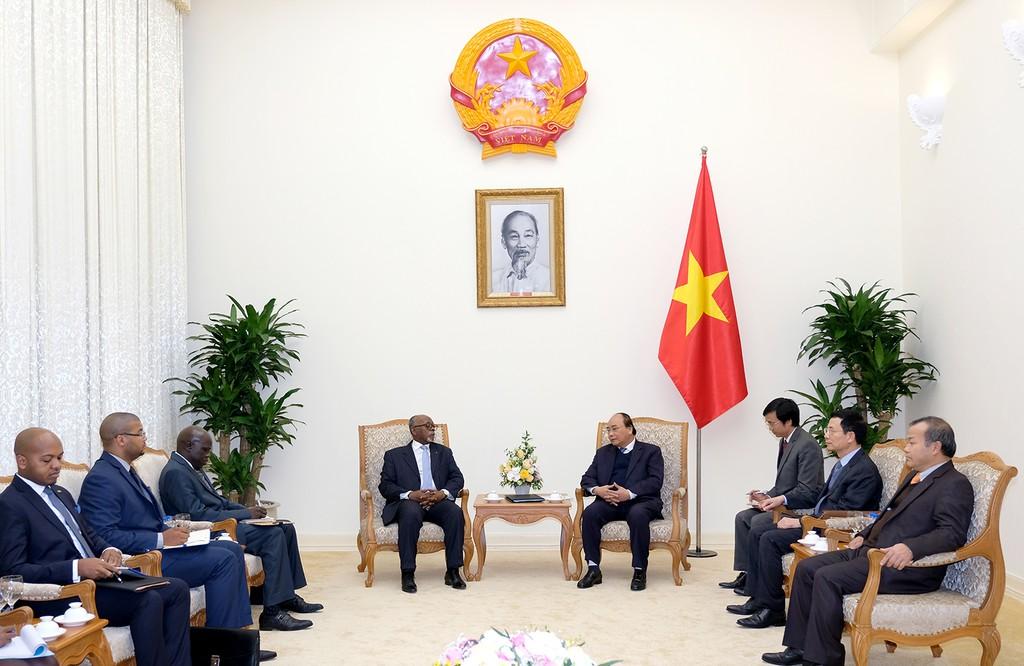 Thủ tướng mong Cameroon quan tâm các dự án đầu tư của Việt Nam - ảnh 1