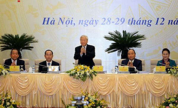 Tổng bí thư Nguyễn Phú Trọng: Không ngủ quên trong vòng nguyệt quế - ảnh 1