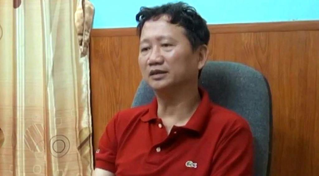 Bị can Trịnh Xuân Thanh. Ảnh Internet