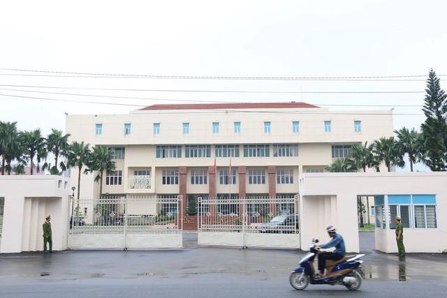 Trụ sở Tỉnh ủy Quảng Nam, nơi diễn ra phiên họp giữa Ủy ban Kiểm tra trung ương với Tỉnh ủy Quảng Nam -Ảnh: B.D