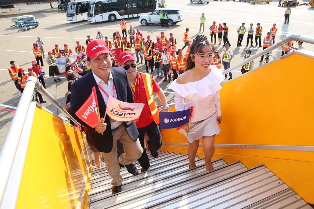 Vietjet nhận tàu bay A321neo thế hệ mới đầu tiên tại khu vực Đông Nam Á - ảnh 1