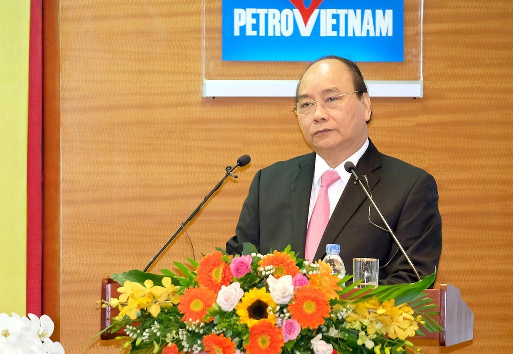 Thủ tướng phát biểu chỉ đạo tại buổi lễ. Ảnh: VGP