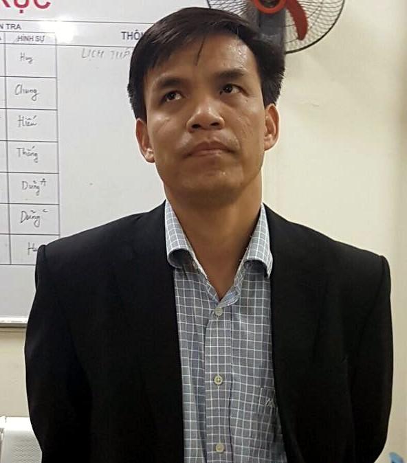 Đối tượng Giáp Văn Hạnh.