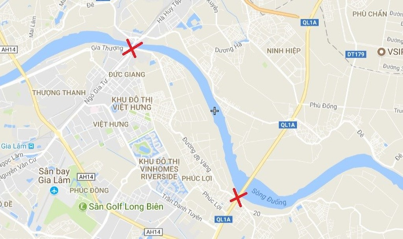 Dự án xây dựng tuyến đường đê hữu Đuống (đoạn Dốc Lời - Đặng Xá đến xã Lệ Chi, huyện Gia Lâm) sẽ được đầu tư 108 tỷ đồng từ ngân sách thành phố.