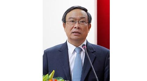 Ông Nguyễn Văn Cao, Chủ tịch tỉnh Thừa Thiên Huế tại cuộc gặp với các doanh nghiệp.