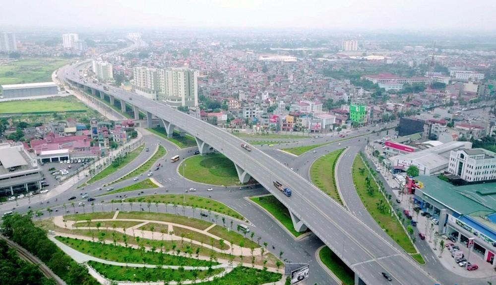 Nút giao trung tâm quận Long Biên gần 3000 tỷ đồng đã đi vào sử dụng.