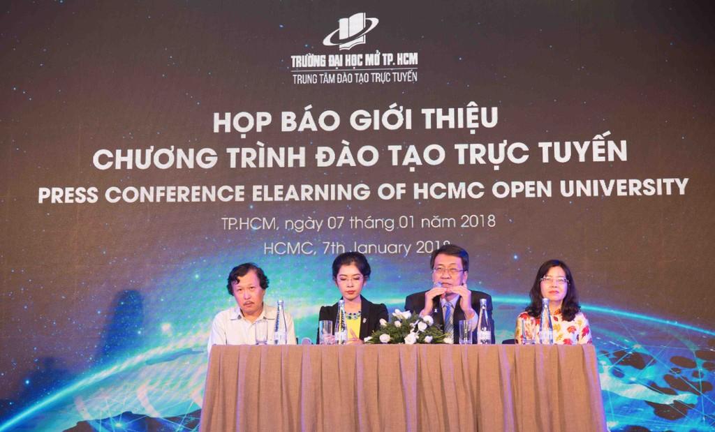 Trường Đại học Mở TP.HCM ra mắt chương trình Đào tạo trực tuyến