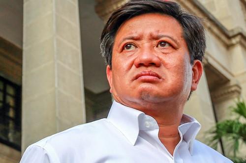 Phó chủ tịch UBND quận 1 Đoàn Ngọc Hải trong lần ra quân dẹp vỉa hè.