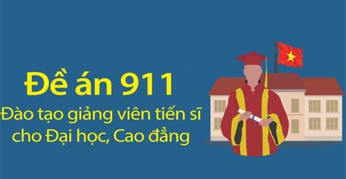 Xem chi tiết kết quả 5 năm thực hiện đề án đào tạo 23.000 giảng viên tiến sĩ. Đồ họa: Tạ Lư - Quỳnh Trang.