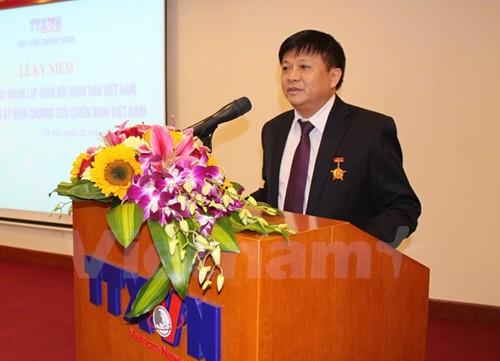 Ông Đinh Đăng Quang, Phó Tổng giám đốc TTXVN.