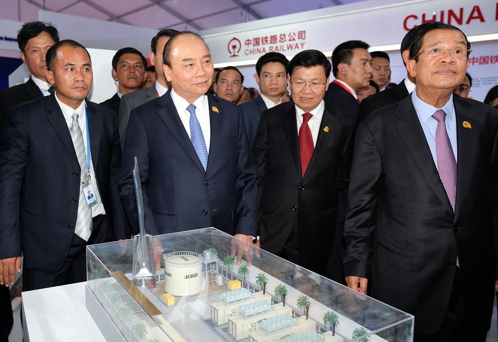 Thủ tướng kết thúc tham dự Hội nghị cấp cao Hợp tác Mekong-Lan Thương - ảnh 2