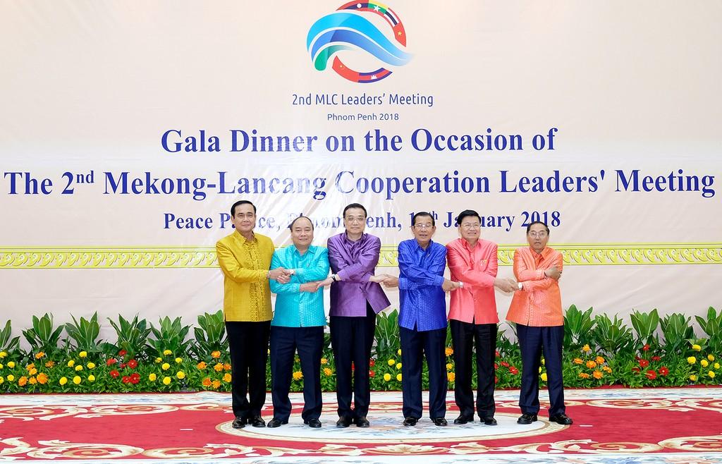 Thủ tướng kết thúc tham dự Hội nghị cấp cao Hợp tác Mekong-Lan Thương - ảnh 3