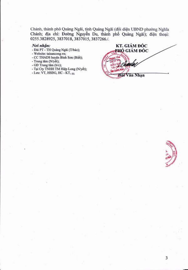 Đấu giá dây chuyền máy móc thiết bị tại Quảng Ngãi - ảnh 3