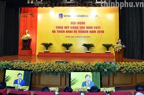 Phó Thủ tướng: PVN tập trung toàn lực tái cơ cấu để phát triển bền vững - ảnh 1
