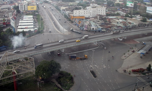 Ngã tư Vũng Tàu được xem là điểm nóng tai nạn giao thông ở TP Biên Hòa.