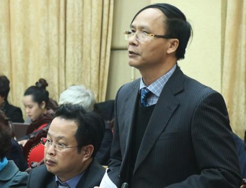 Ông Nguyễn Hoài Nam, Trưởng ban Pháp chế (HĐND TP Hà Nội).