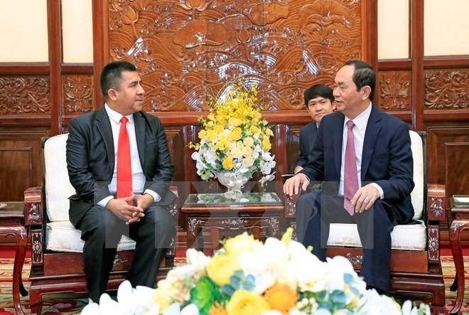 Chủ tịch nước tiếp các Đại sứ trình Quốc thư - ảnh 5