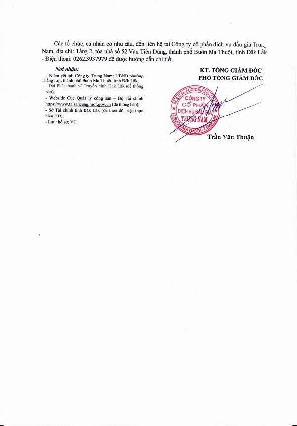 Đấu giá quyền sử dụng đất tại TP.Buôn Ma Thuột, Đắk Lắk - ảnh 2