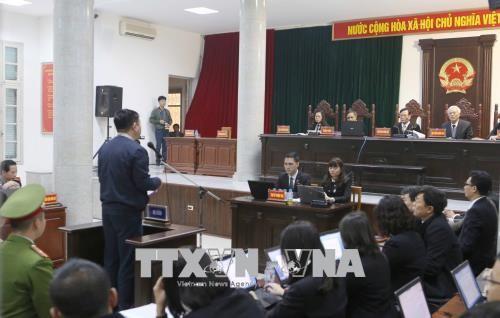 Chùm ảnh: Trịnh Xuân Thanh và đồng phạm nói lời nói sau cùng - ảnh 4