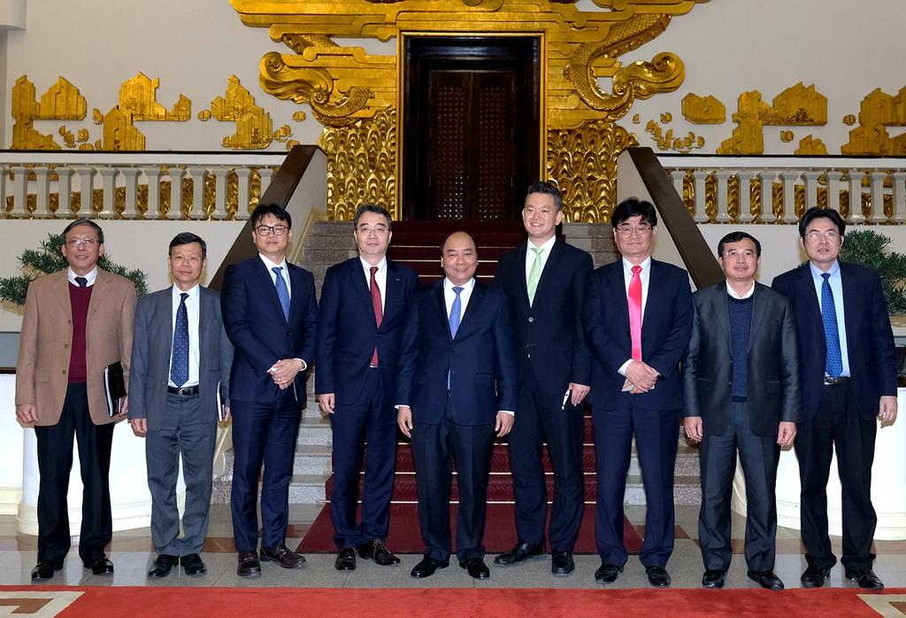 Thủ tướng Nguyễn Xuân Phúc tiếp Tổng giám đốc Doosan Vina - ảnh 2