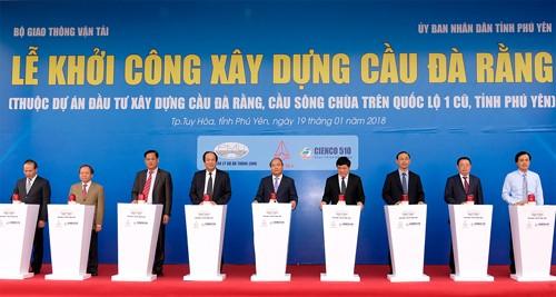 Thủ tướng chứng kiến dòng vốn đầu tư mới vào Phú Yên - ảnh 1
