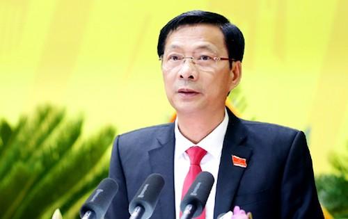 """Bí thư Quảng Ninh Nguyễn Văn Đọc đề nghị làm rõ """"ai chạy chức chạy quyền và chạy ai"""". Ảnh: PV"""