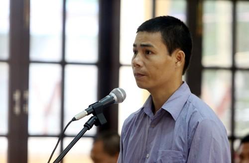 Bị cáo Nguyễn Văn Quang.