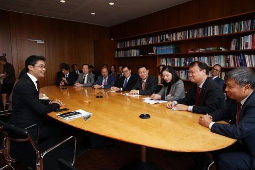 Phó Thủ tướng Vương Đình Huệ dự Hội nghị Davos và thăm Bồ Đào Nha - ảnh 1