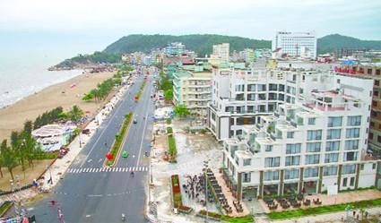 Một góc thành phố Sầm Sơn
