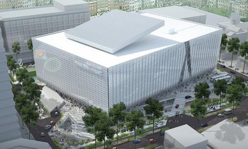 Phối cảnh khu thể thao Phan Đình Phùng, Quận 3, TP HCM được đầu tư xây dựng theo hình thức BT