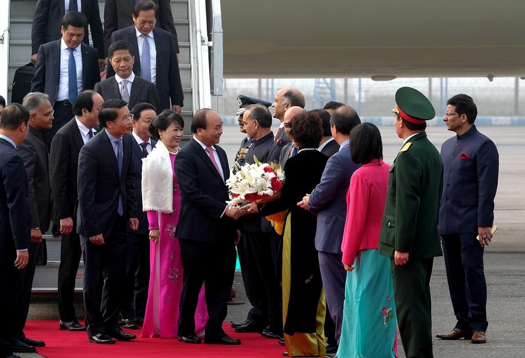 Thủ tướng đến Thủ đô New Delhi, Ấn Độ - ảnh 1