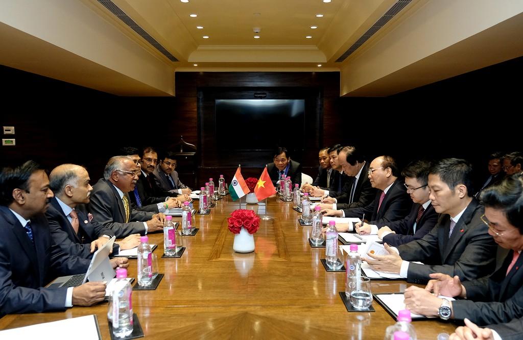 Thủ tướng tiếp các tập đoàn lớn của Ấn Độ - ảnh 1