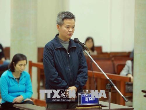 Chùm ảnh: Phiên tòa xét xử vụ án tham ô tài sản tại PVP Land sáng 25/1 - ảnh 4
