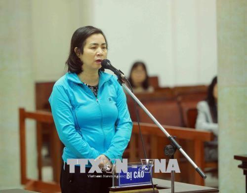 Chùm ảnh: Phiên tòa xét xử vụ án tham ô tài sản tại PVP Land sáng 25/1 - ảnh 5