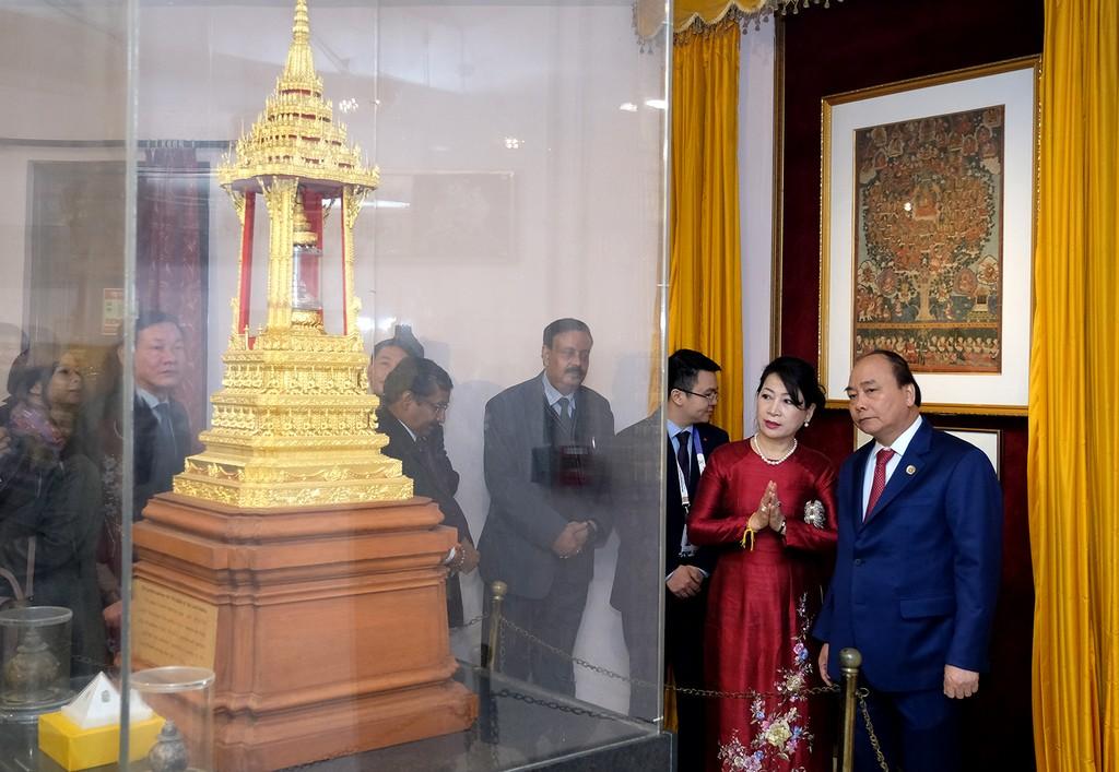 Thủ tướng dự lễ động thổ trụ sở mới Đại sứ quán Việt Nam tại Ấn Độ - ảnh 4