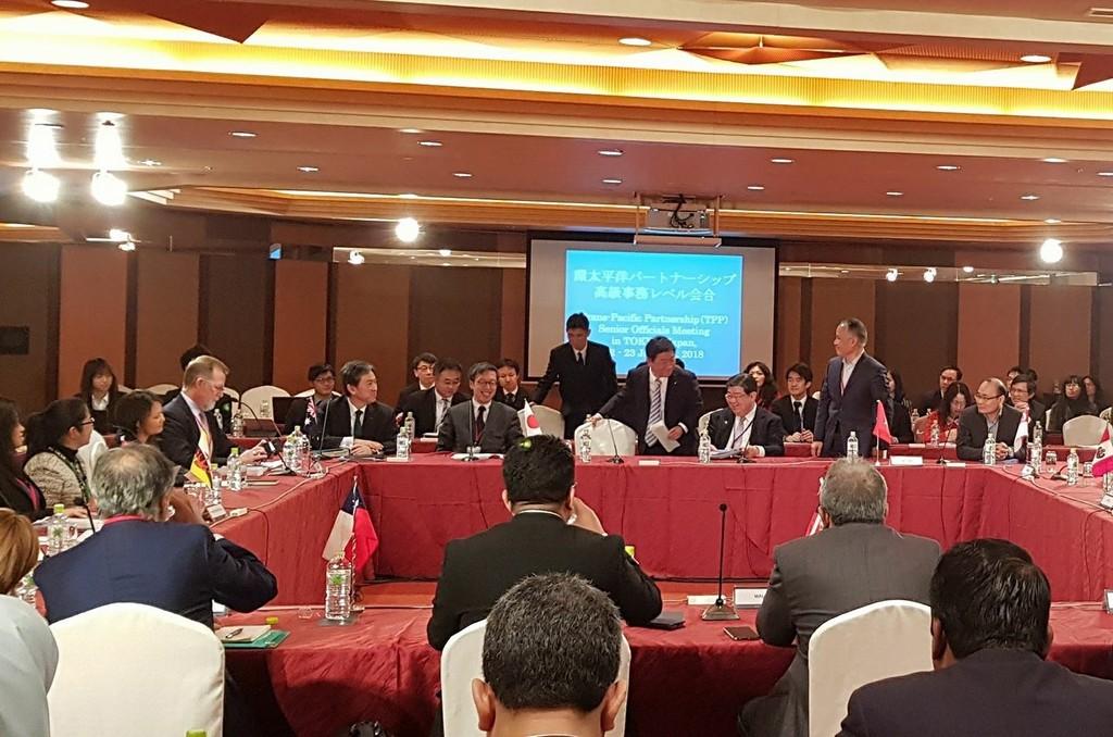 Sẽ ký kết Hiệp định CPTPP vào tháng 3/2018