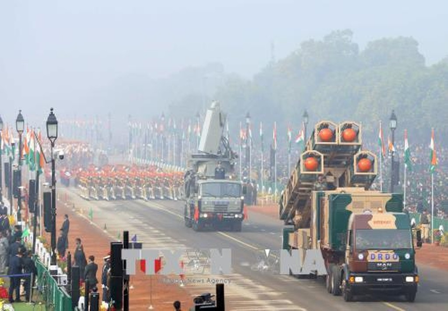 Thủ tướng Nguyễn Xuân Phúc dự Lễ diễu binh nhân Ngày Cộng hòa Ấn Độ - ảnh 1
