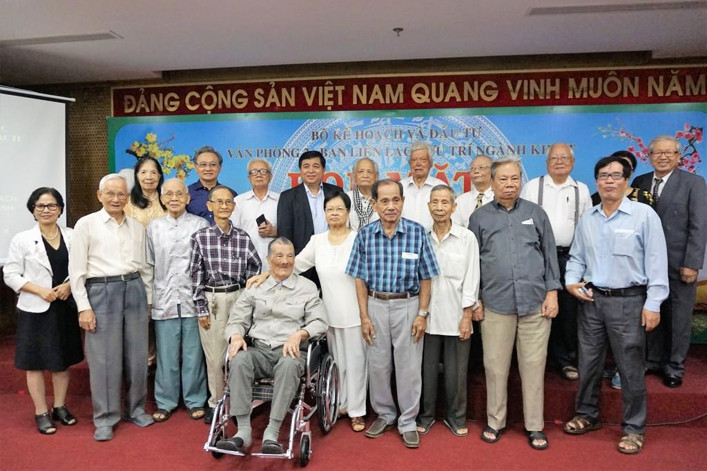 Gặp mặt mừng xuân cán bộ hưu trí ngành Kế hoạch và Đầu tư tại TP.HCM - ảnh 1