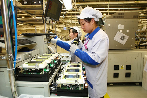 Công nghệ chế biến chế tạo đạt mức tăng trưởng mạnh.