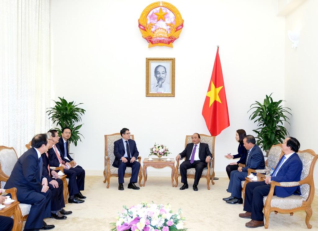Thủ tướng tiếp Chủ tịch Tập đoàn Hyosung, Hàn Quốc - ảnh 1
